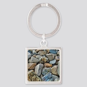Beach Rocks Keychains